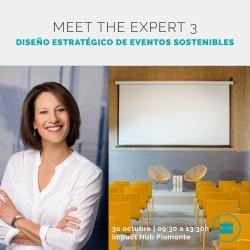 Meet the Expert 3: cómo diseñar eventos sostenibles