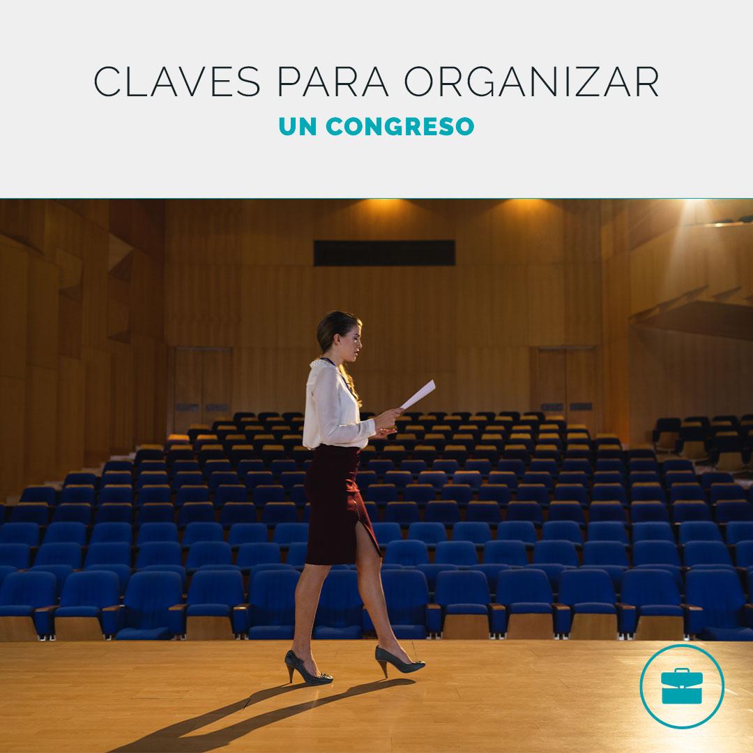 Organizar un congreso