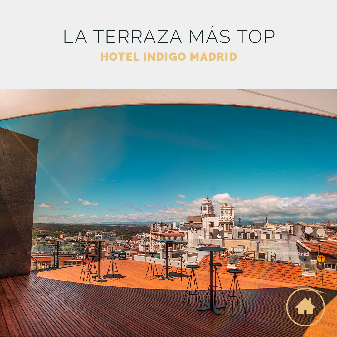 Terraza eventos Hotel Indigo