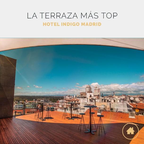 La terraza del Hotel Indigo reabre sus puerta