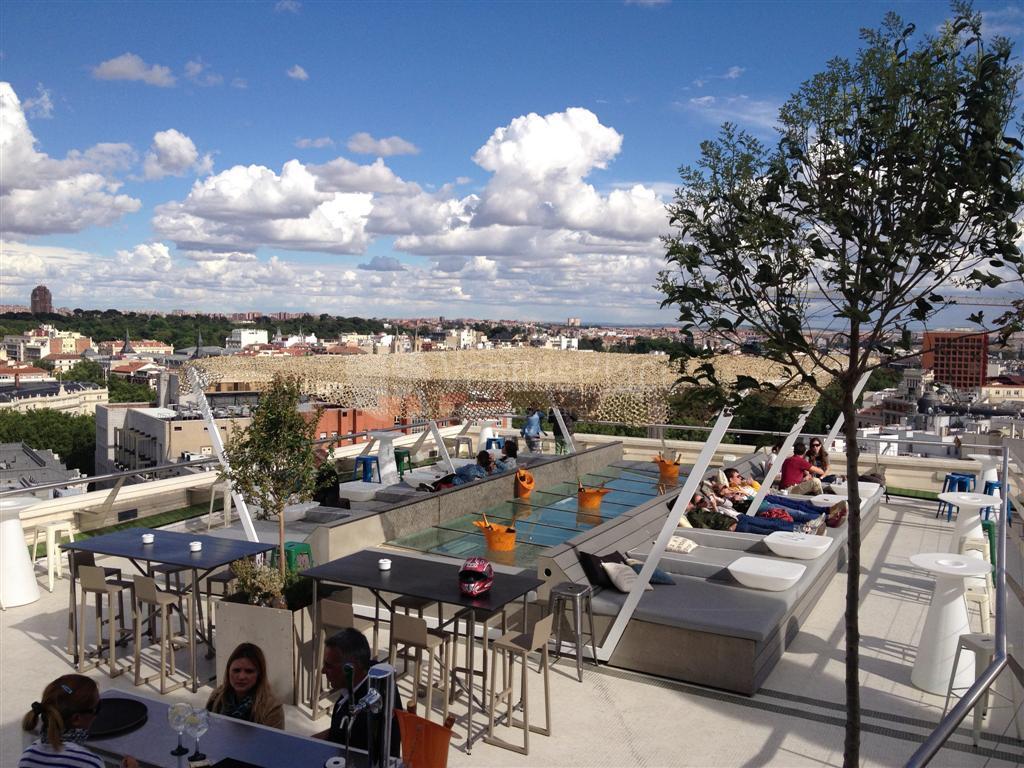 Azotea del c rculo una terraza con vistas espectaculares for Azoteas madrid