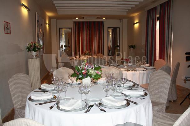 Montaje en banquete eventos de empresa y familiares Restaurante Pando Cuna 2