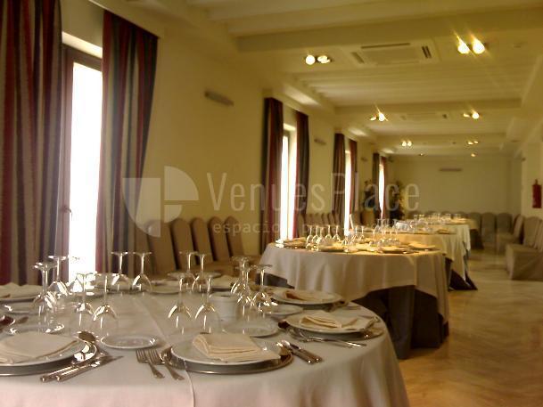 Montaje en banquete eventos en Restaurante Pando Cuna