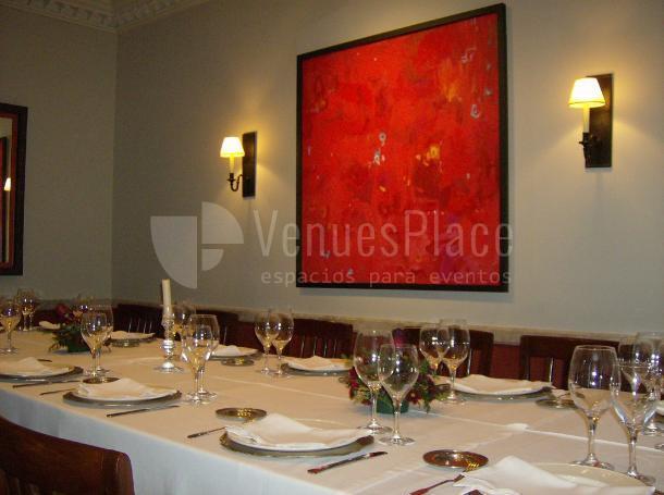 Restaurante Pando Cuna mesa imperial, eventos de empresa y familiares