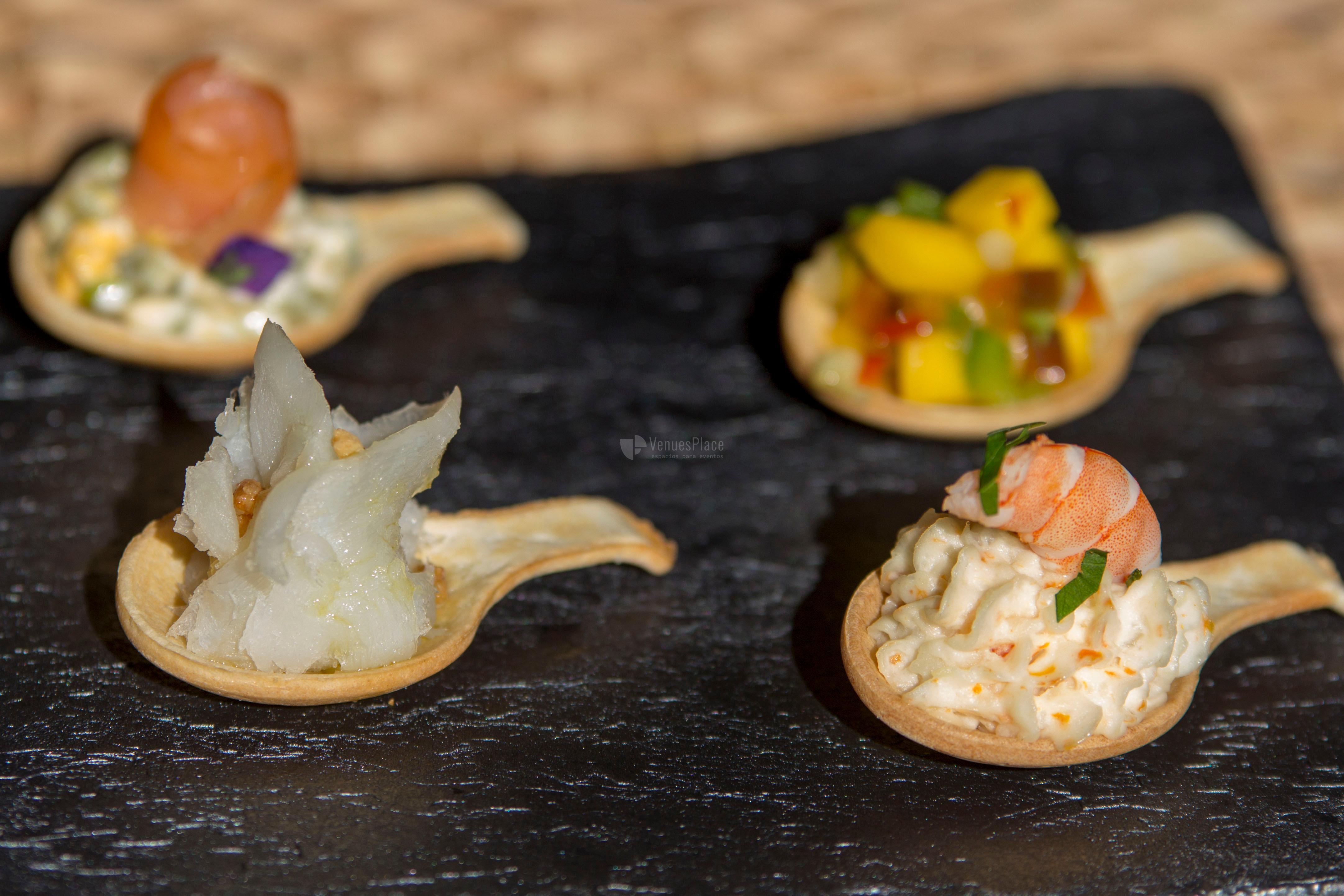 Menú cóctel en Restaurante Pando Cuna