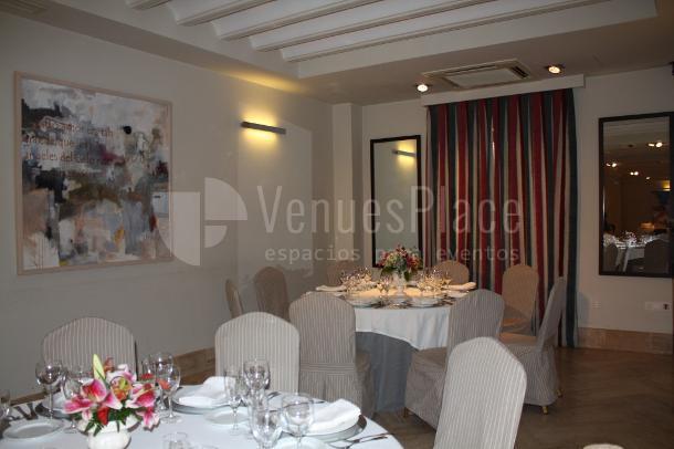 Montaje en banquete eventos de empresa y familiares Restaurante Pando Cuna 4
