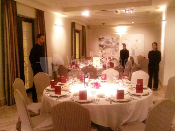 Montaje en banquete eventos de empresa y familiares Restaurante Pando Cuna 9