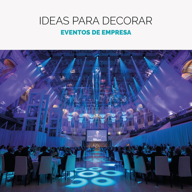 Cómo decorar un evento de empresa