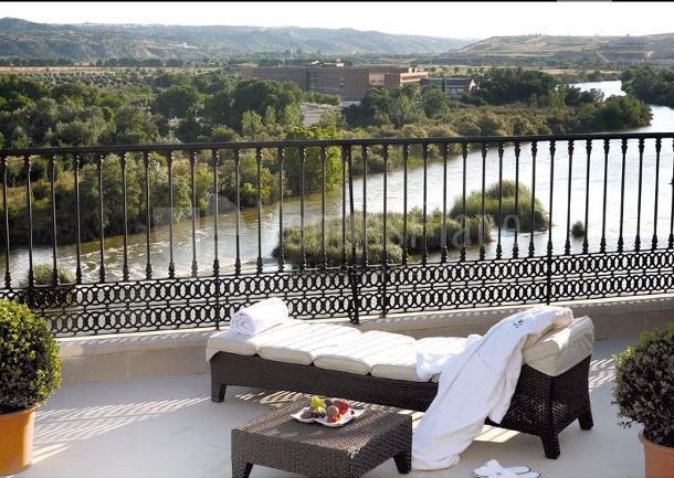 Vistas al Río Tajo desde el Hotel Eurostars Palacio Buenavista Toledo