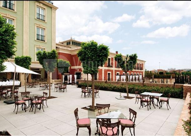 Terraza del Hotel Eurostars Palacio Buenavista Toledo