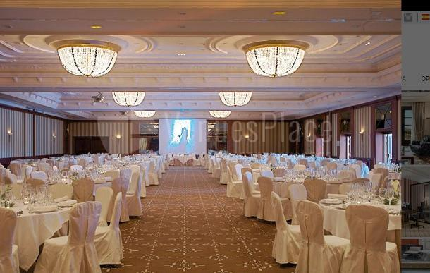Montaje de boda en el Hotel Eurostars Palacio Buenavista Toledo