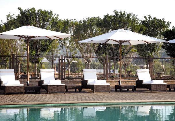 Piscina en el Hotel Eurostars Palacio Buenavista Toledo