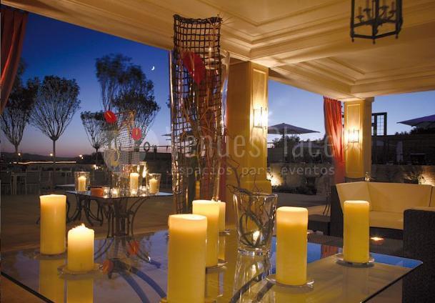 Eventos en nuestra terraza con las mejores vista de Toledo en Eurostars Palacio Buenavista Toledo