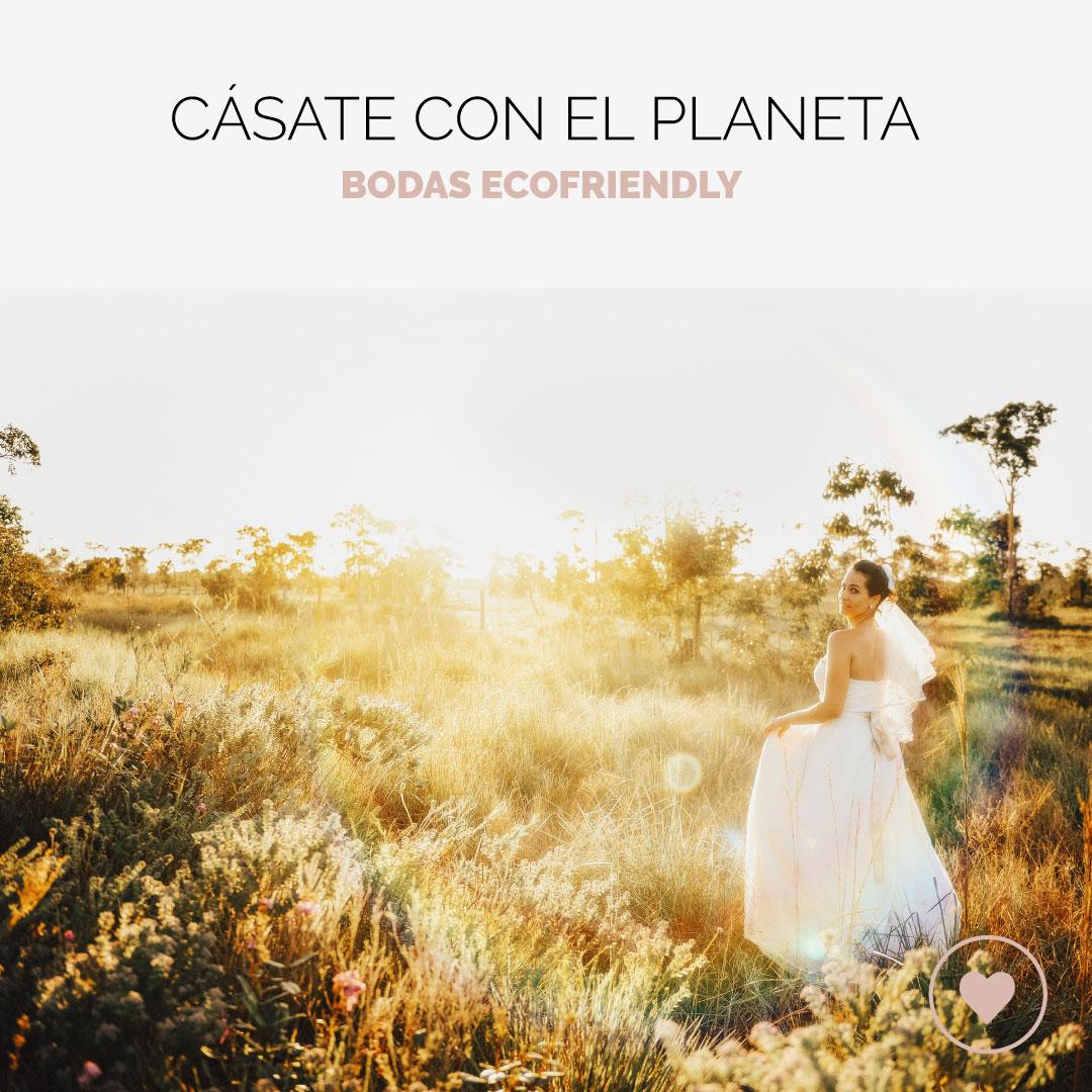 Cómo ser sostenible el día b: Una boda eco-friendly