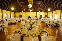 Foto salón principal en Hacienda Veracruz