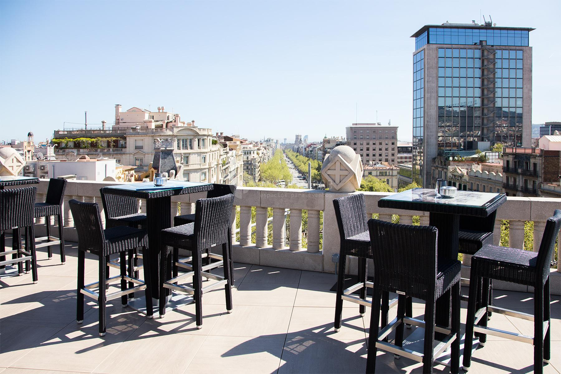Hotel casa fuster eventos y celebraciones venuesplace for Terraza casa fuster