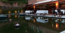 Terraza en Restaurante Benares Madrid