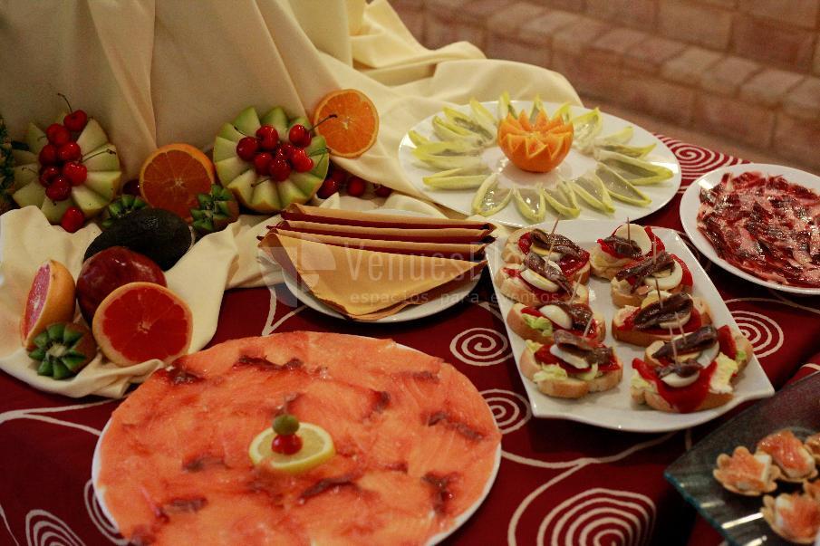 CATERING MARIA ANTONIA menú celebraciones y eventos