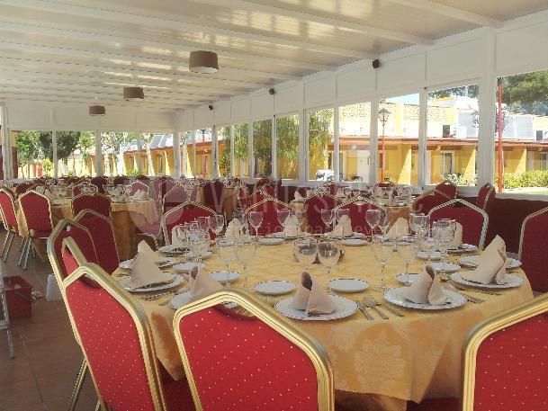 Salón dunas en  Hotel Dunas Puerto