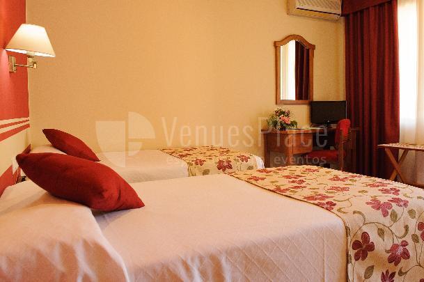 Habitación doble  Hotel Dunas Puerto