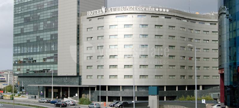Exterior Attica 21 Coruña