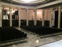 Sala de Columnas. 4ª planta. Montaje teatro