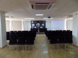 Sala María Zambrano. 5ª planta. Montaje teatro