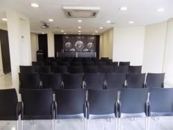 Sala Nueva. 5ª planta. Montaje teatro