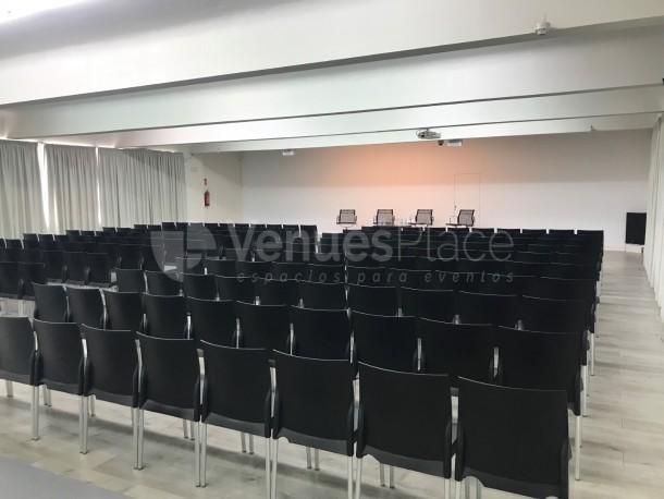 Sala Ramón Gómez de la Serna. 5ª planta. Montaje teatro