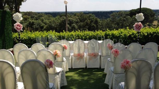 Celebra una boda civil especial en Restaurante el Torreón del Pardo