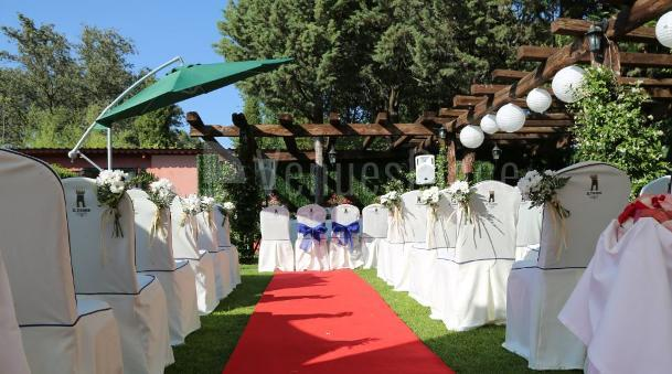 Celebra tu boda civil en Restaurante el Torreón del Pardo
