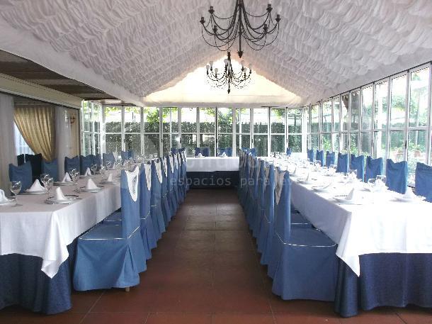 Montaje en U para tus eventos y celebraciones en Restaurante el Torreón del Pardo