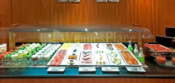 Buffet en el  Hotel TRYP Indalo Almería