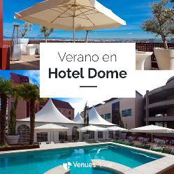 Bienvenida al verano en el Hotel Dome 4*