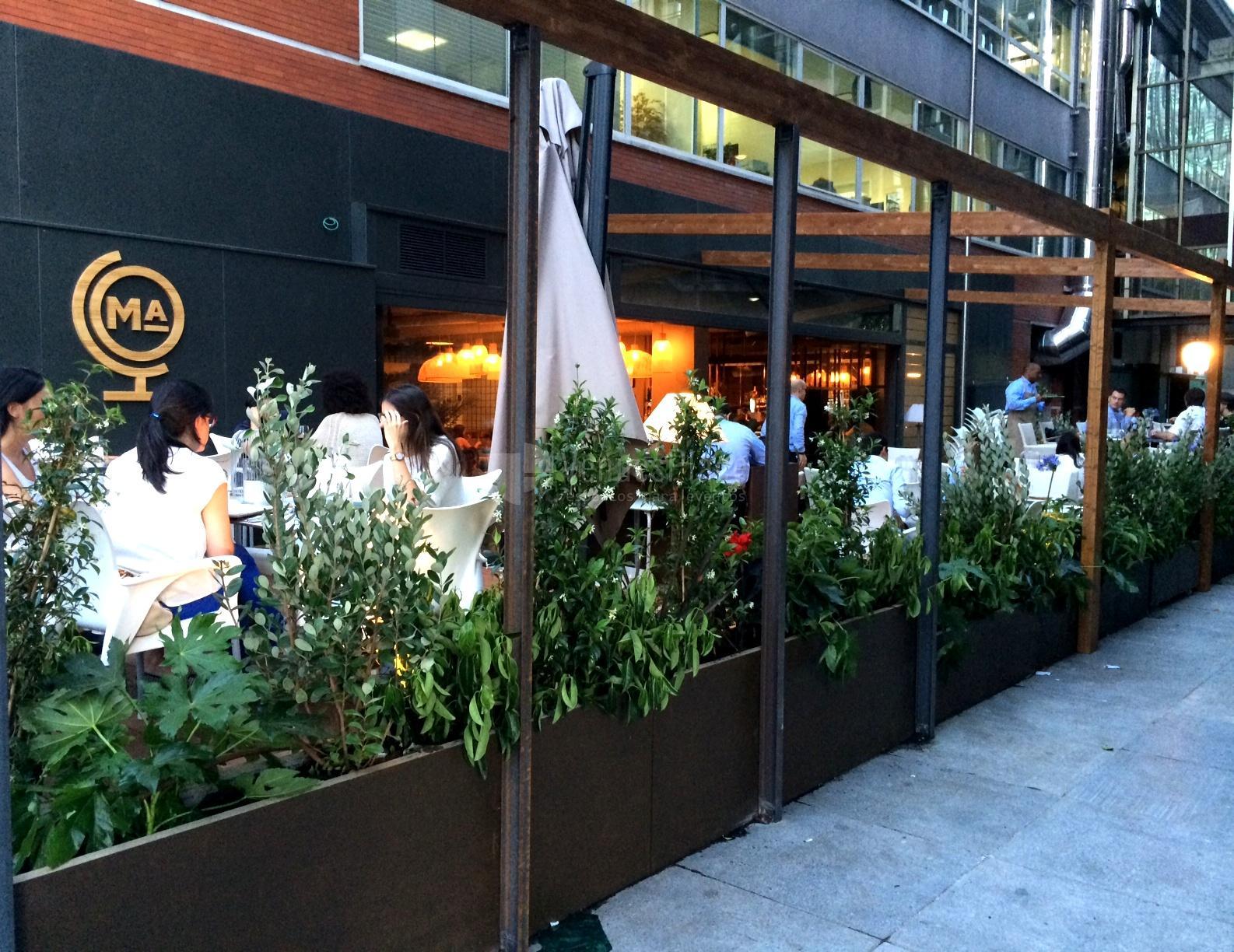 Restaurante marieta venuesplace for Restaurantes con terraza madrid