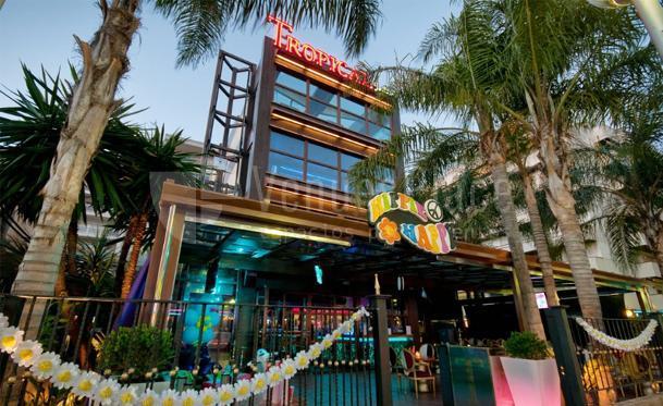 Exterior Discoteca Tropical Eventos