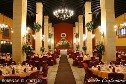 Salón Monasterio en Bodegas El Cortijo