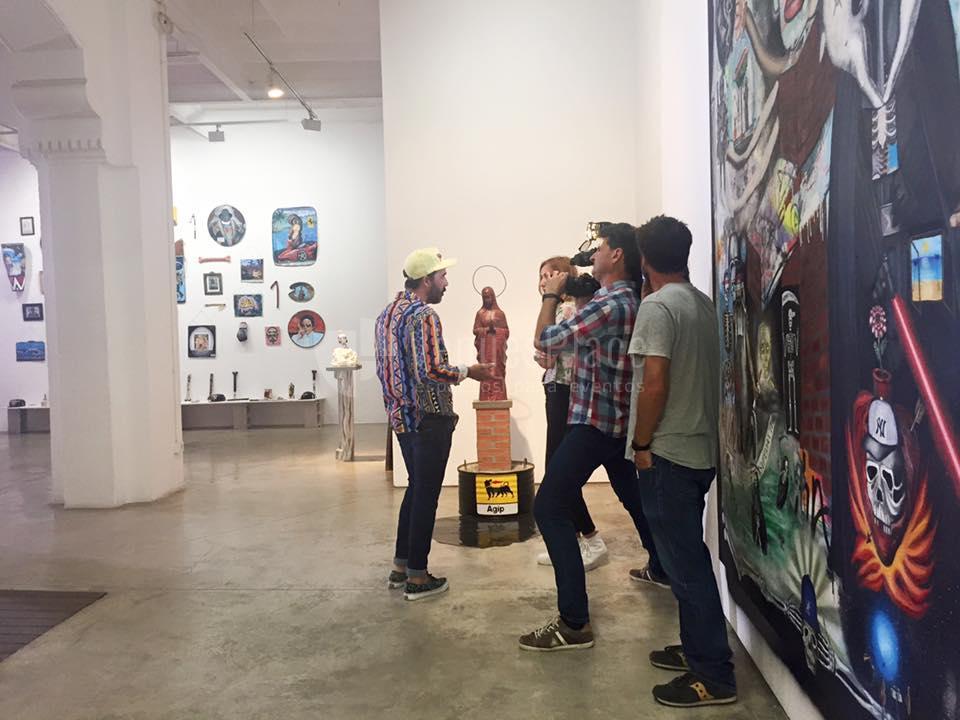 Montaje 1 en Delimbo Gallery