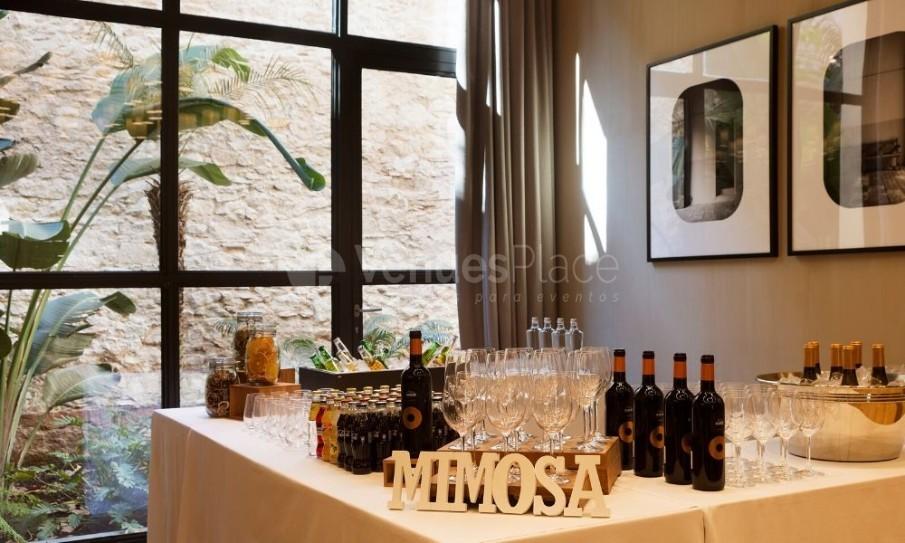 Montaje evento H10 Casa Mimosa