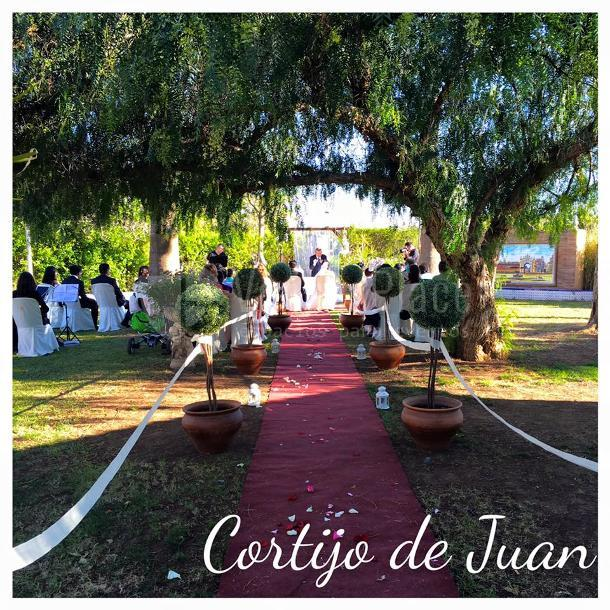 Cortijo de Juan ceremonia civil