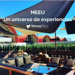 MEEU: un espacio versátil e innovador para eventos