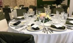 Montaje en banquete en Corevents Barcelona
