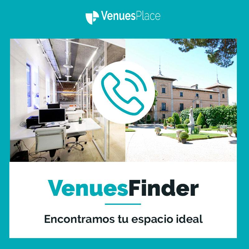El VenuesFinder: la clave para encontrar el espacio perfecto para tu evento