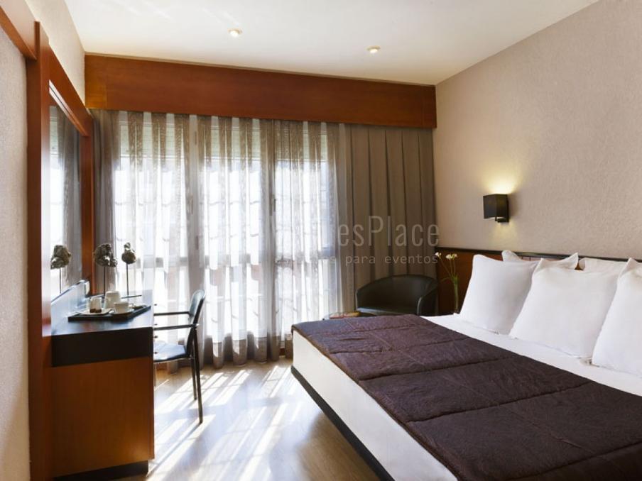 Interior 4 en Hotel Derby 4* habitaciones cómodas y luminosas
