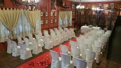 Montaje para ceremonia en Cortijo Los Chalanes