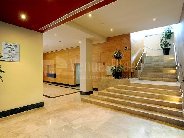 Interior 2 en Sercotel Ciutat de Montcada Hotel