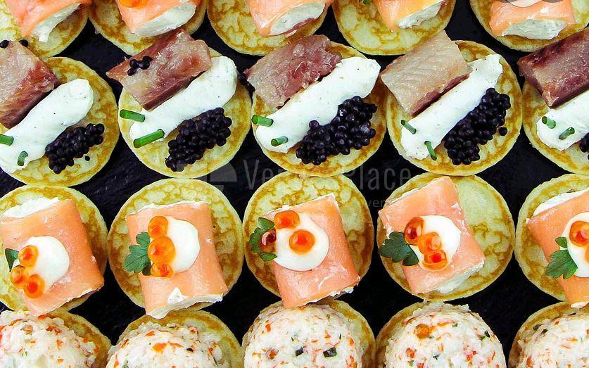 Gastronomía para todo tipo de eventos en AGA Catering de Gourmet