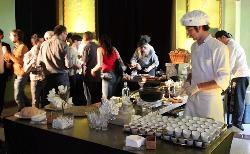 Servicio personalizado en AGA Catering de Gourmet