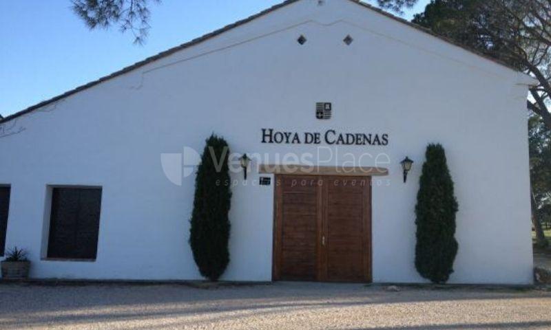 Bodega Hoya de Cadenas 1 en Espacios Catering Noray