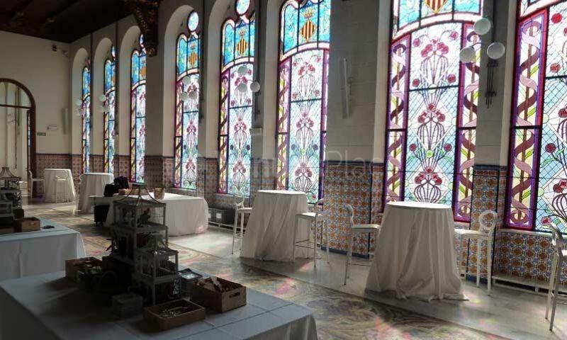 Palacio de la Exposición Interior 2 en Espacios Catering Noray